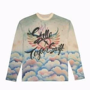 Stella McCartney x Taylor Swift L/S tee marble dye